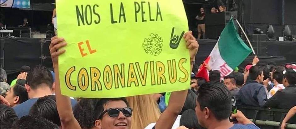 Mexicanos, el coronavirus sí nos va a afectar