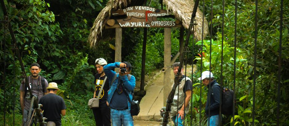 Puyo, sede de encuentro de fotógrafos de Ecuador para promoción del turismo comunitario