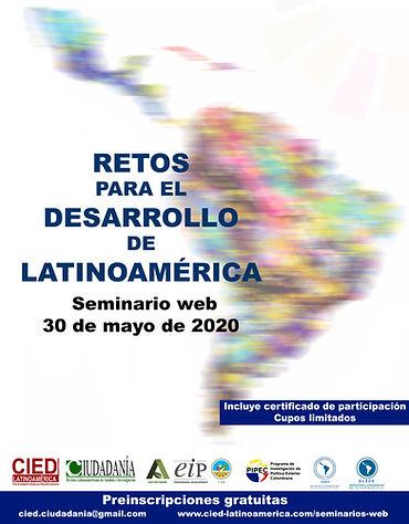 Retos para el desarrollo de Latinoamérica Seminario web