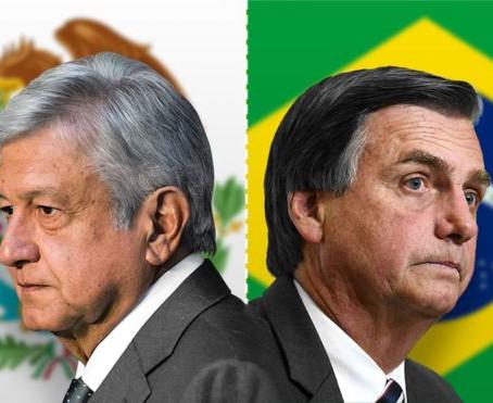 AMLO y Bolsonaro, las promesas de un cambio en sentido contrario