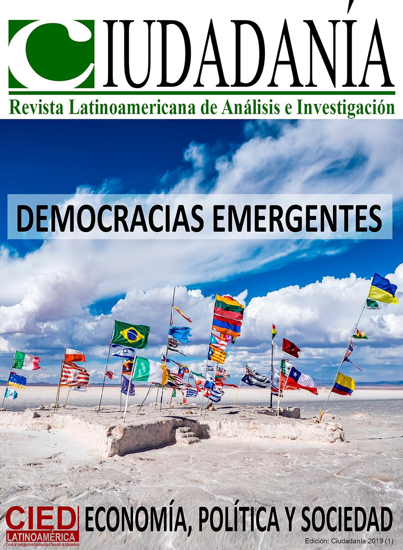 Afiche promocional de la revista Ciudadanía