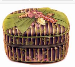 Silk Jewelry Case