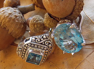 blue topaz fall