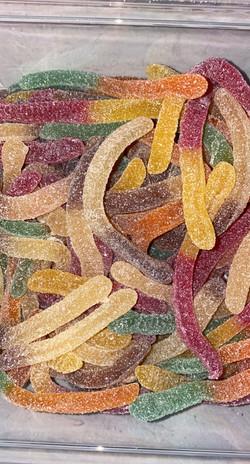 Fizzy snakes