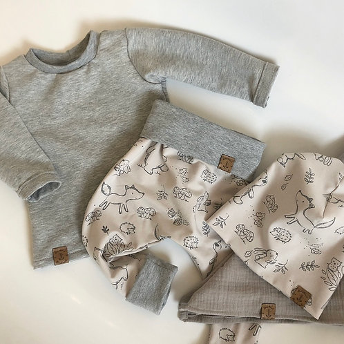 "Baby Outfit ""Waldtierkinder"""