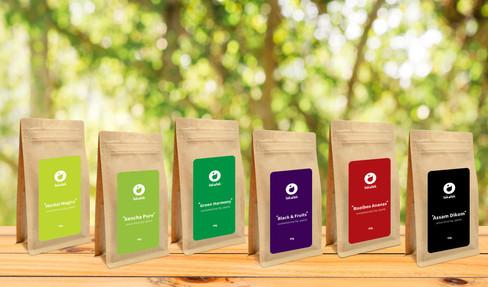 Tea collection design