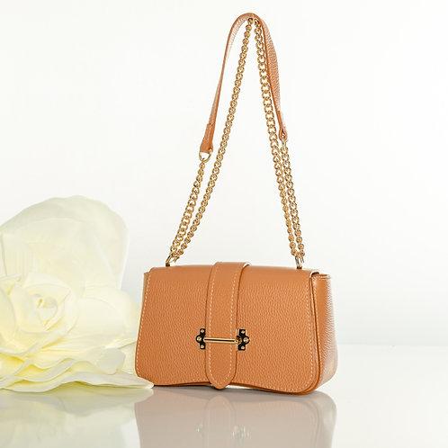 """Italian leather """"Lori brown"""" handbag"""