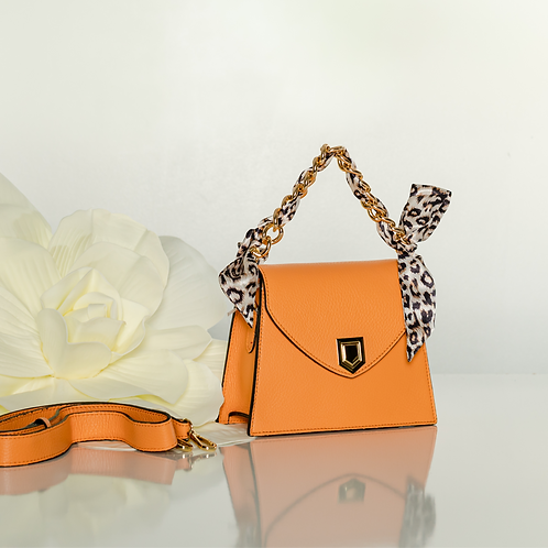 Mini Orange Lulu bag