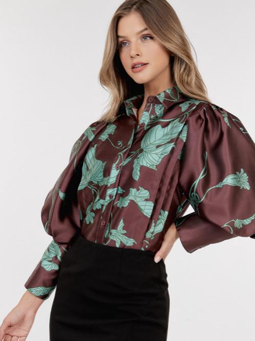 Leaf blouse