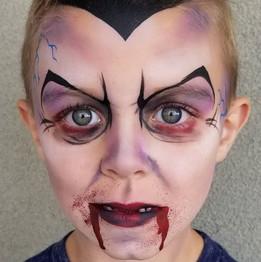 Halloween Vampire Face Paint