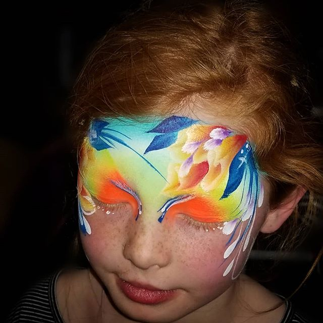 #facepaintfever #flowerfacepaint #floral