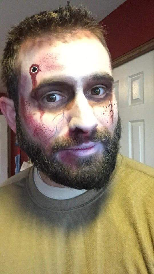Undead face paint