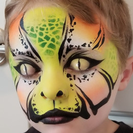 Snake Face Paint