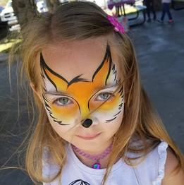 Fox Animal Face Paint