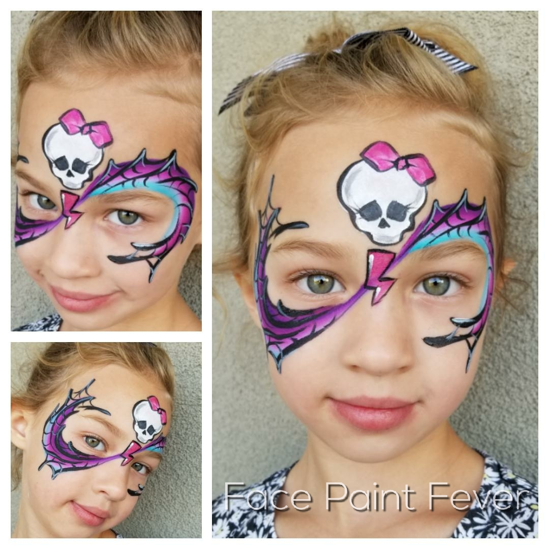 Mosnter High face paint
