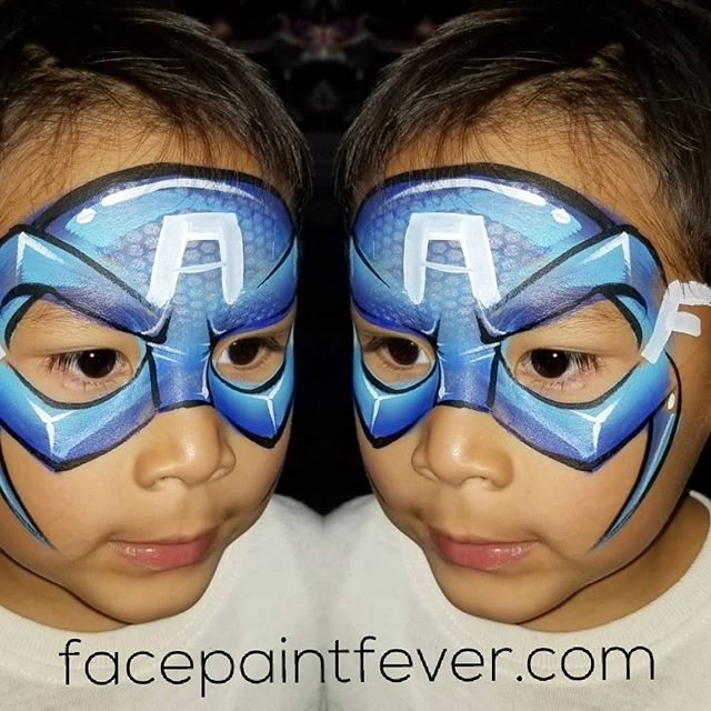 Came across this #facepaintfever #fave f
