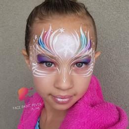Elsa Princess Face Paint