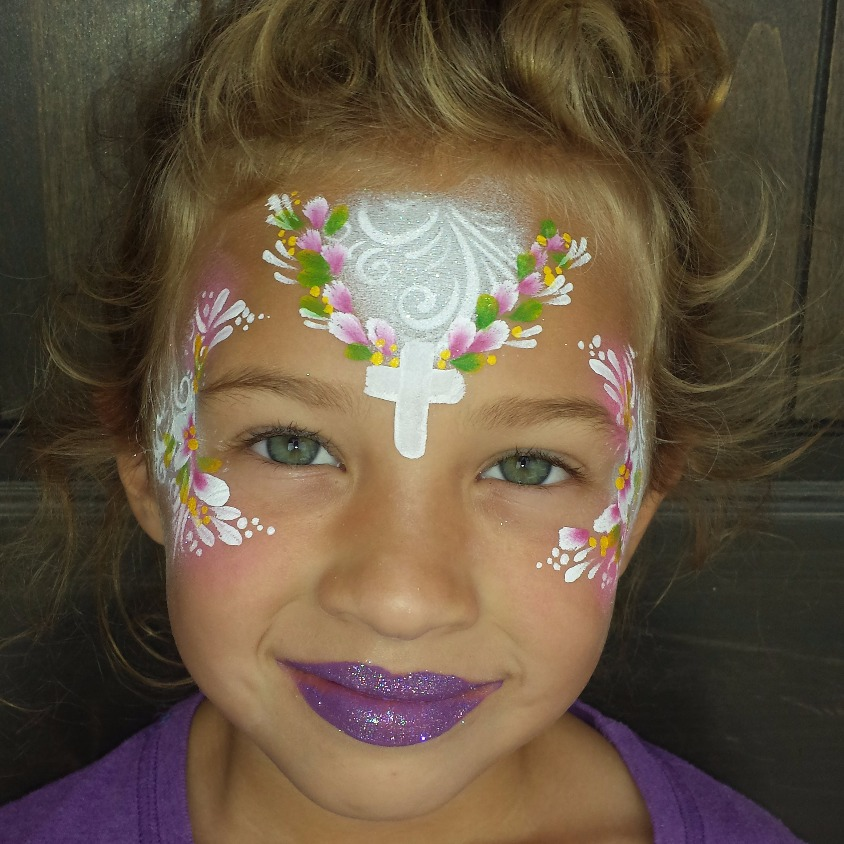 Baptism face paint