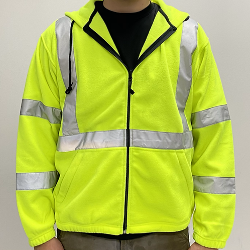 Full Zip Safety Jacket