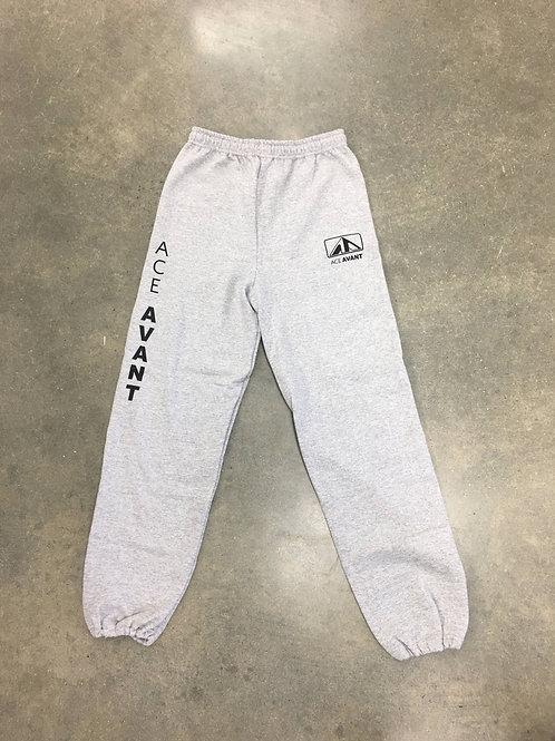 Gray Cuffed Sweatpants