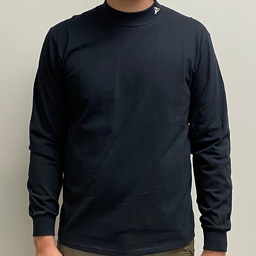 Mock Long Sleeve Turtle Neck