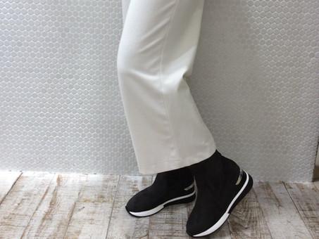 □サイドジップ スニーカーブーツ□