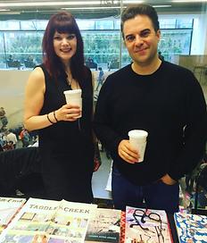 Taddle Creek magazine editors, Suzanne Alyssa Andrew and Conan Tobias