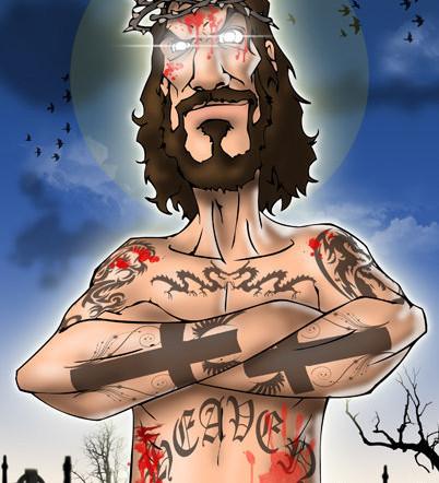"""Rebel Christ"""