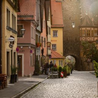 Zentrum Rothenburg ob der Tauber