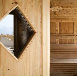 sauna spa alpina