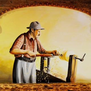 restaurant painting