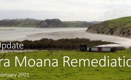 Latest Update from the Kaipara Moana Remediation