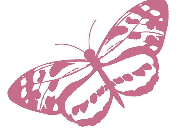 COUTURE CREATIONS - Mini Stamp - Spotted Butterfly