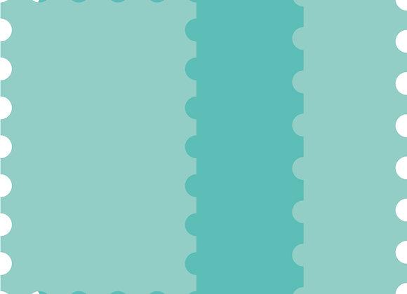 KAISERCRAFT - Die-cut - Nesting Postage Stamp