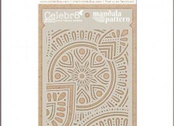 CELEBR8 - Stencil - Mandala