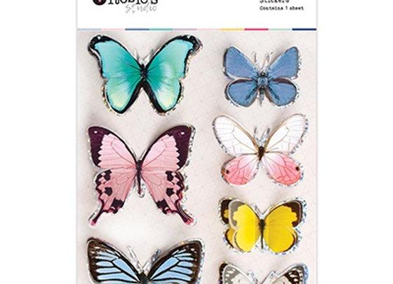 ROSIES STUDIO - 3D Butterflies - Arabesque