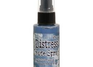 DISTRESS OXIDE SPRAY - Faded Jeans