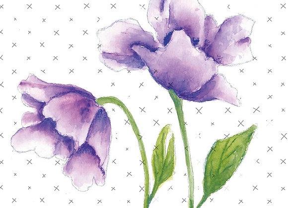 STUDIO LIGHT - Floral Stamp - #426