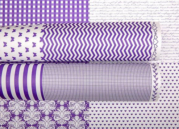 LPP - Hallo Cards - Purple