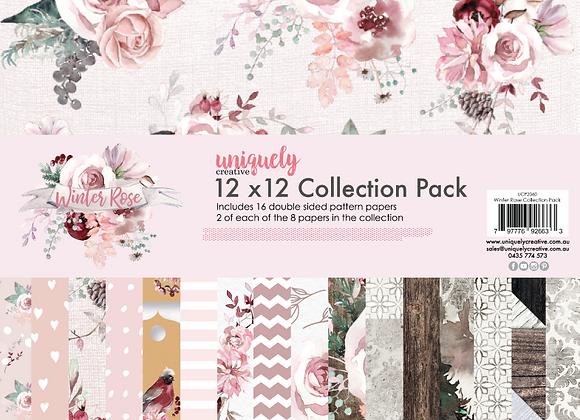 UNIQUELY CREATIVE - Paper Pad - Winter Rose