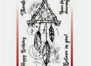 CREATIVE EXPRESSIONS - Stamp - Dream Catcher