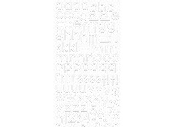 ROSIES STUDIO - Alphabet Sticker - White