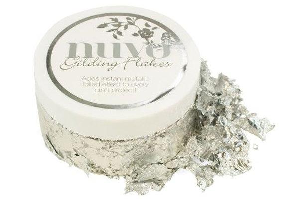 NUVO - Gilding Flakes - Silver