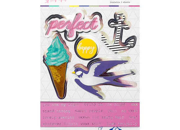 ROSIES - Layered Sticker Set - Splendid