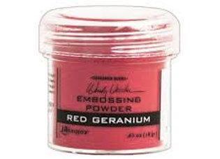 RANGER Embossing Powder - Red Geranium