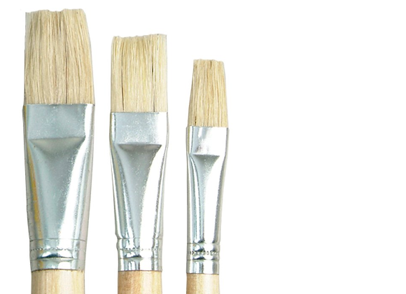 DALA - Flat Brush Set of 3