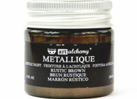 PRIMA - Metallique Paint - Rustic Brown