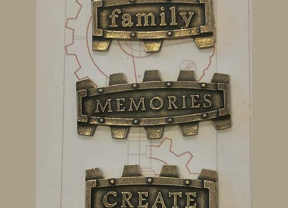 MITFORM - Metal Frames - Family / Memories / Create