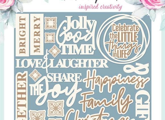 PENELOPE DEE - Words - Christmas