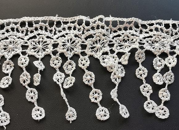 KRAFTY-KING - Ribbon - White Lace